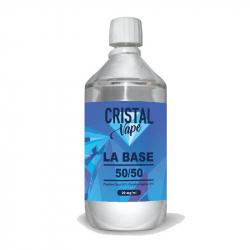 Base 50/50 1 litre - Cristal vape
