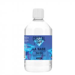 Base 50/50 500ml - Cristal vape