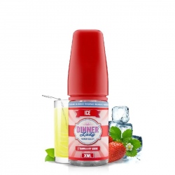 Concentré Strawberry Bikini 0% Sucralose 30ml - Dinner lady