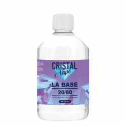 Base 20/80 500ml - Cristal vape