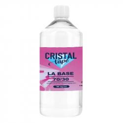 Base 70/30 1 litre - Cristal Vape
