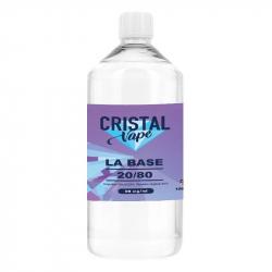 Base 20/80 1 litre - Cristal Vape