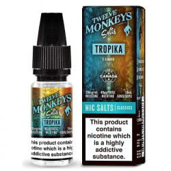 E-liquide tropika salts - Twelve monkeys