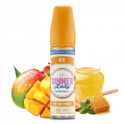 Mango Iced 50ml 0% sucralose Tea  - Dinner Lady