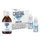 Pack base/booster 50/50 - Cristal vape