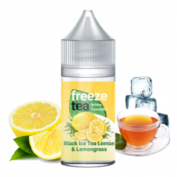 Concentré Black Ice Tea Lemon& Lemongrass 30ml - Freeze Teaby