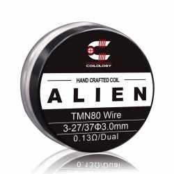 Coils préfabriqués handcrafted alien TMN80 - Pack de 2 - Coilology