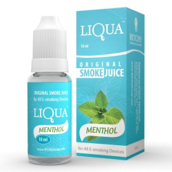 E-liquide menthol LIQUA