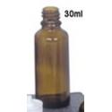 Flacon en verre avec pipette 30ml