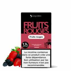 Wpod Fruits rouges - Pack de 4 - Liquideo