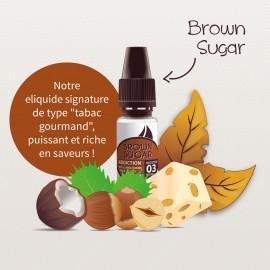 E-liquide Brown Sugar  30ml - Addiction