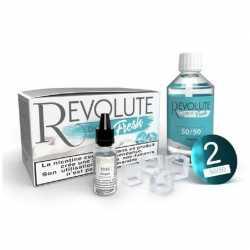 Pack DIY Fresh 50/50 100ml - Revolute