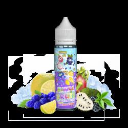 Citron Framboise Bleue Mûre Fruit du Dragon 50ml Battle Fruit