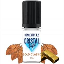 Arôme Classic gold - Cristal vape