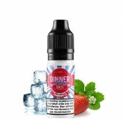 Strawberry Ice Salt Nic 20mg - Dinner Lady
