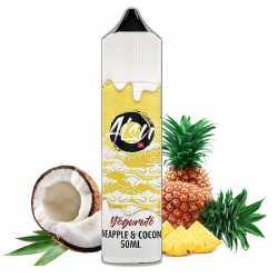 Aisu Yoguruto Pineapple & Coconut Zero Ice 50ml - Zap Juice