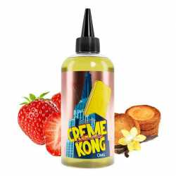 Creme Kong Strawberry Retro 200ml  - Joe's Juice