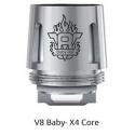 Résistance X4 core 0.15ohm TFV8 Baby - Smok