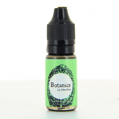 E-liquide La Menthe Botanics - Vaponaute