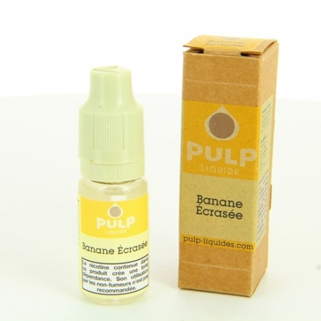 E-Liquide Banane Ecrasée 10ml - PULP