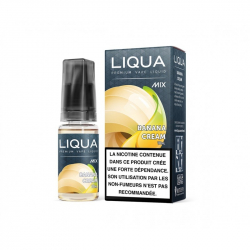 E-liquide Banana Cream / Banana Cream 10ml -  LIQUA