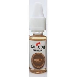 E-liquide  Le Coq Premium Brun 10ml  - Le Coq qui Vape